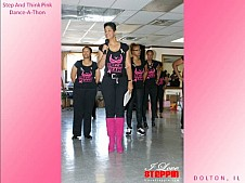 The Step and Think Pink Dance -A- Thon
